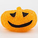 1 stk halloween plast krystall gresskar nattlys
