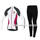 KEIYUEM Spring/Autumn Long Sleeve Cycling Jersey Long Tights Ropa Ciclismo Cycling Clothing Suits #L118
