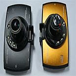 H400 Car Driving Recorder 1080p HD Video Camera Pixel 3 Million Tuhao Gold