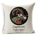 Zodiac Constellation Cotton Linen Sofa Cushion Car Cushion Covers Nordic