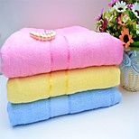 1 PC Bamboo Fiber Bath Towel 27 by 59 inch Stripe Pattern