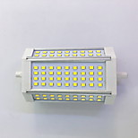 R7S 118mm 72x 2835SMD 10W Warm White / Cool White 1100LM 220Beam Horizontal Plug Lights  Flood Light AC85-265V