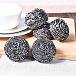 Set Of 4 Steel Wool Steel Wire Ball  Fighting Kitchen Stubborn Stains