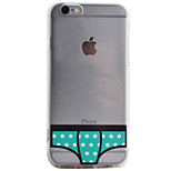 Bikini Pattern High Permeability TPU Material Phone Case For iPhone 6s 6Plus SE 5S 5