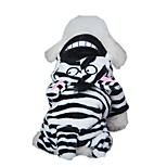 Funny Donkey Design Costume Fleece Jumpsuits  for Pets Dogs (Assorted Sizes)