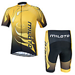 Miloto Summer Breathable Bike Sports Clothing Cycling Jersey/Mountain Bicycle Jersey Sportwear Mallot Ciclismo