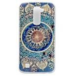 Mandala Pattern TPU Material Phone Case for LG K10