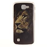Back Cover IMD  Pattern Lion TPU Soft Case Cover For LG LG K10 LG K8 LG K7 LG K4