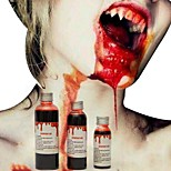1PC 120ml Halloween Costume Party Artificial Edible Fake Blood plasma The Film And Television Cosplay Makeup