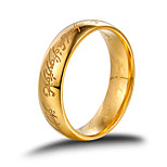 Ring Men Lord Of The Rings Wedding Rings Rose Gold Stainless Steel Ring Couple Rings Men Jewelry