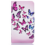 PU Leather Material Butterfly Pattern Painting Pattern  Phone Cases for Sony Xperia X/XP/Z5/Z5 Mini