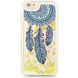 Dream Catcher Back Flowing Quicksand Liquid/PC Hard Case Cover For iPhone 6s Plus/6 Plus/6s/6/SE/5s/5