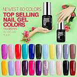 Nail Art Beauty Modelones 60 Colors Shining Gel Polish  Nails Vainish UV Lacquer Long Lasting