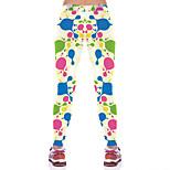 Pantaloni da yoga Pantaloni Traspirante / Compressione Naturale Elastico Abbigliamento sportivo Blu Per donna Sportivo® Yoga / Pilates