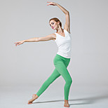 Yoga Pants Tights Breathable / Wicking Natural Stretchy Sports Wear White / Green / Black Women's OthersYoga / Pilates