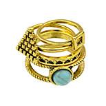 Vintage Style Imitation Turquoise New Design Finger Ring
