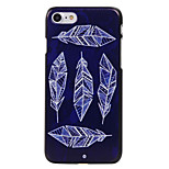 Feathers Pattern High Quality PC Material Phone Shell For iPhone 7 7 Plus 6S 6Plus SE 5
