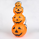 4PCS  Interesting Retro Hallowmas Christmas Convenient LED Pumpkin Lamp
