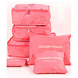 6pcs Portable Multifunctional Traveling Luggage Bag /Travel Storage