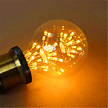 G80LED All Over The Sky Star Edison Light Bulb Decorative Fashion 220V 2W 2300K E27 Warm Yellow