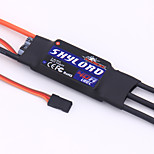 General Accessories RC Skylord 40A with 3A@5V BEC Speed Controller (ESC) RC Airplanes Black Metal / Plastic 1 Piece