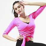 SportsYoga Tops Breathable / Comfortable Stretchy Sports Wear Yoga / Pilates / Exercise & Fitness / Leisure Sports