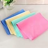 1 PC PVA Wash Towel 16 by 12 inch Solid Random Color