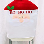 1pcs nouvelle arrivée chaise noël couvre 50 * 60cm décorations de Noël navidad adornos décoration dîner chaise fixe cadeau