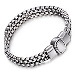 2016 Kalen New Link Chain Bracelet High Polished Shiny Biker Cool Bracelet Cheap Male Jewelry Accessories Gift
