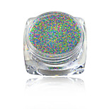 1g Mixed Color Nail Sugar Powder Nail Art Dust Tips Nail Decorations Dazzling Manicure Craft #523-532
