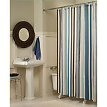 180*180cm Elegant Style  Design Waterproof Bathroom Fabric Shower Curtain