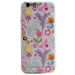 Flower Pattern Simple Matte Material TPU Phone Case For iPhone 6s 6 Plus SE 5s 5
