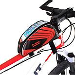 Бардачок на раму Водонепроницаемый / Ударопрочность / Пригодно для носки / Многофункциональный Велосипедный спортРубашечная ткань / ПВХ /