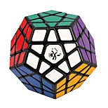 Toys Dayan Stress Relievers / Magic Cube Megaminx / Magic Toy Smooth Speed Cube Magic Cube puzzle Black Plastic