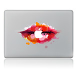 Red Lip Decorative Skin Sticker for MacBook Air/Pro/Pro with Retina