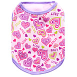 Dog Vest / Vest A variety of colors / Spring And Fall  Floral / Hearts Fashion