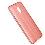 Back Cover Translucent Geometric Pattern TPU Soft Case Cover For Meizu Meizu m3 note