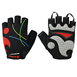 2016 Bicycle Half Finger Gloves Summer Breathable Mesh Silica Gel Palm Pad Riding Cycling Sports Gloves 1 Pair