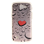 Back Cover IMD Pattern Heart TPU Soft Case Cover For LG LG K10 LG K8 LG K7 LG K4