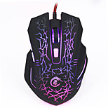 Wired Optical LED Colorful Backlight Adjustable 1200-5500DPI 6 Buttons USB Gaming Game Mouse Mice For PC Computer Laptop