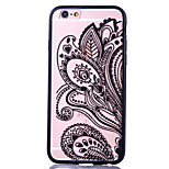 Para Funda iPhone 6 Plus Diseños Funda Cubierta Trasera Funda Flor Dura Acrílico AppleiPhone 6s Plus/6 Plus / iPhone 6s/6 / iPhone
