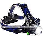 LED taskulamput LED 3 Tila 3000 lumens LumeniaSäädettävä fokus / Vedenkestävä / ladattava / Iskunkestävä / Isku viiste / Kompakti koko /