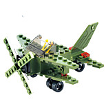 Building Blocks For Gift  Building Blocks Model & Building Toy Fighter Plastic Above 6 Green Toys