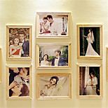 7 Inch Squares Log Photo Photo Wall Combination Bedroom Living Room Studio Combination Explosion