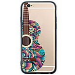 Transparent Stripes/Ripples Guitar TPU Soft Case Back Cover For Apple iPhone 6s 6 Plus SE 5s 5