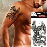 5pcs Tattoo Aufkleber Tier Serie Non Toxic / WaterproofDamen / Herren / Erwachsener / Teen Flash-Tattoo Temporary Tattoos