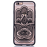 Für iPhone 6 Plus Hülle Muster Hülle Rückseitenabdeckung Hülle Blume Hart Acryl Apple iPhone 6s Plus/6 Plus / iPhone 6s/6 / iPhone SE/5s/5