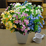 1PC  Household Artificial Flowers Sitting Room Adornment Flowers  Polyester  Artificial   Flowers