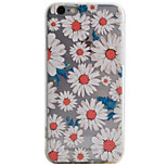 Chrysanthemum Pattern High Permeability TPU Material Phone Case For iPhone 6s 6Plus SE 5S 5