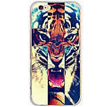 Para Funda iPhone 6 / Funda iPhone 6 Plus Diseños Funda Cubierta Trasera Funda Animal Dura Policarbonato AppleiPhone 6s Plus/6 Plus /